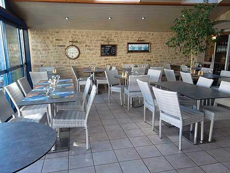 restaurant damgan, terrasse, spécialités fruits de mer, plat du jour, traiteur