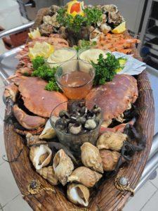 plateau de fruits de mer damgan, restaurant damgan